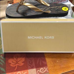 Women's Michael Kors thong sandal